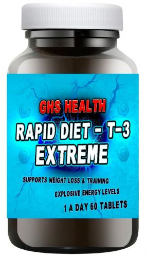 Rapid Diet - T-3 Extreme 60 tablets (1 a day) + Free Delivery
